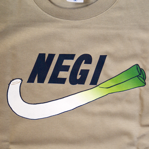 パロディTシャツ「NEGI」