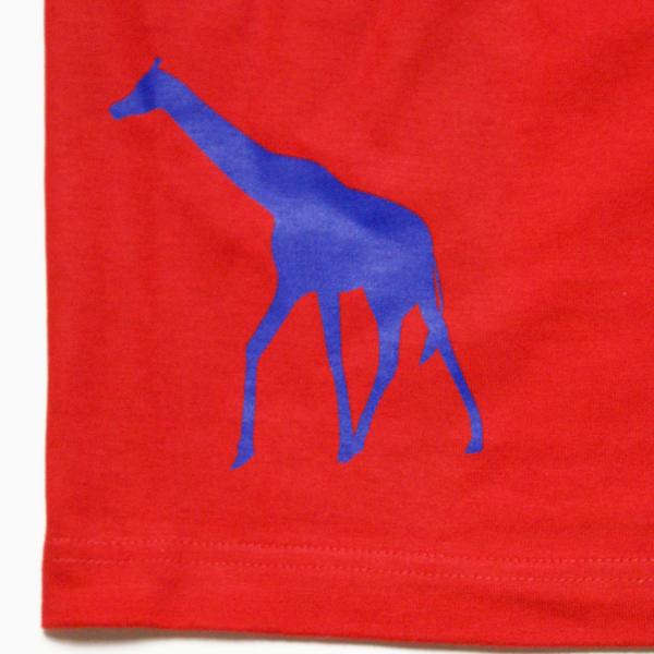 オリジナル アニマルTシャツ「キリン」