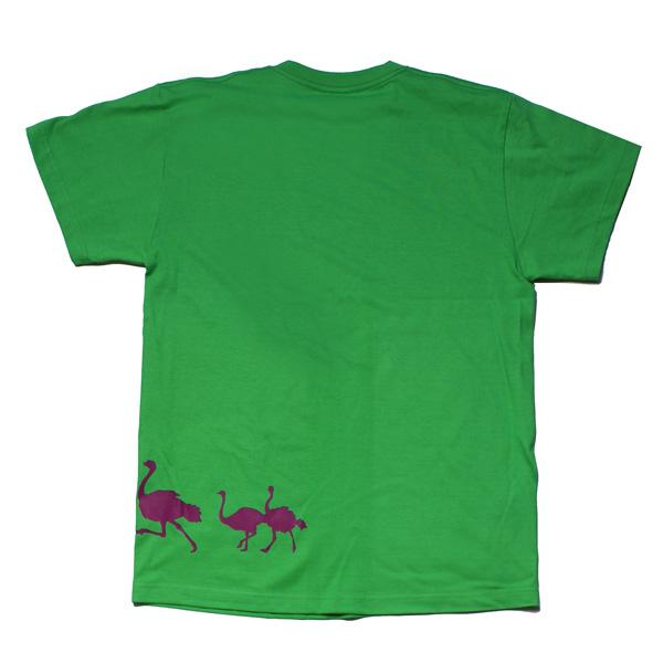 オリジナル アニマルTシャツ「ダチョウ」
