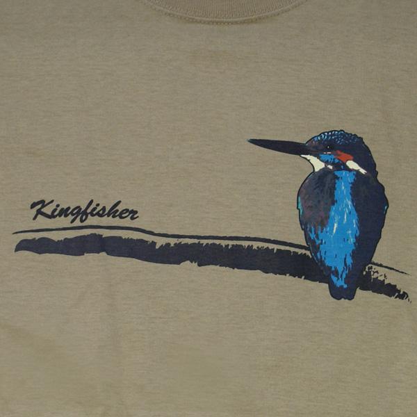 オリジナル アニマルTシャツ「カワセミ」
