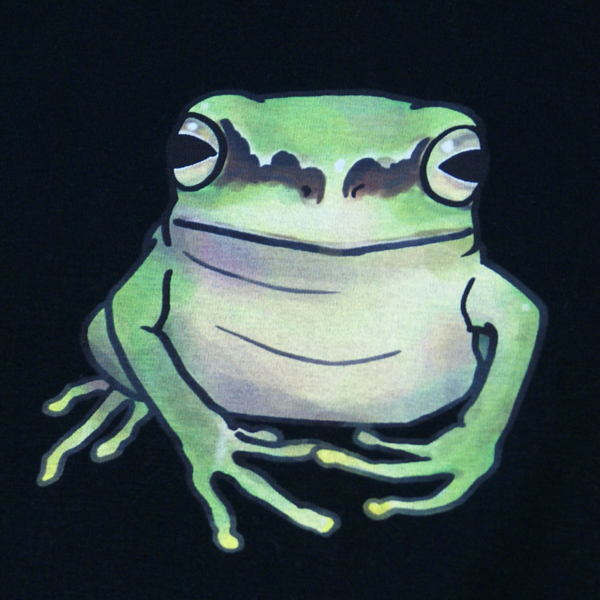 オリジナル アニマルTシャツ「カエル」
