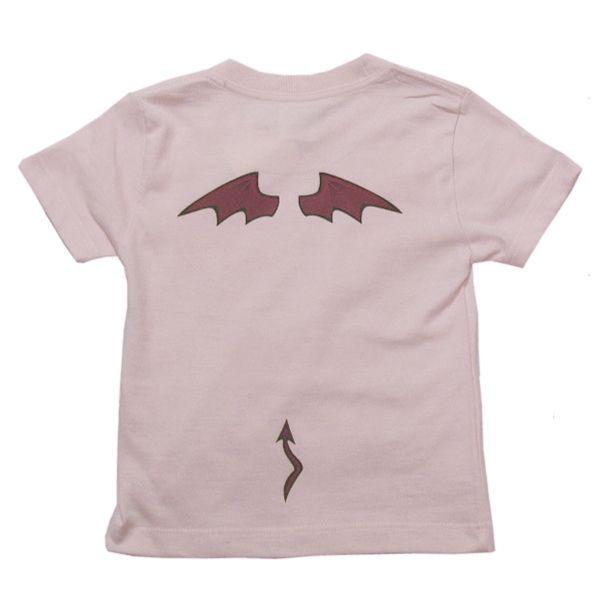 オリジナル子供Tシャツ「アクマの羽根」